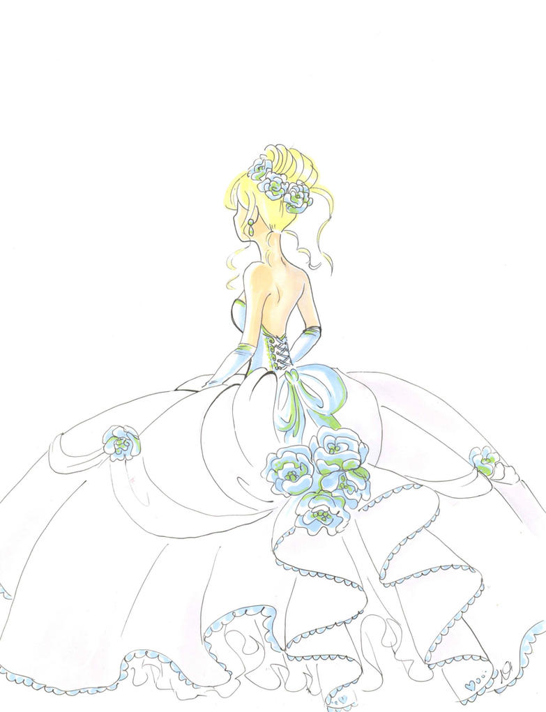 wedding dress by faycoon on DeviantArt