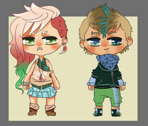 Hipster Adoptables [CLOSED] by faycoon