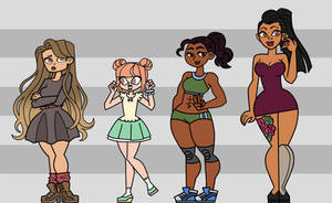 total drama own characters