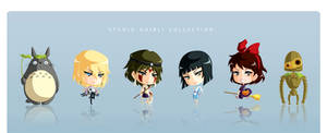 Studio Ghibli Chibi Set