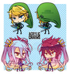 Acrylic Charms by Aniteen9
