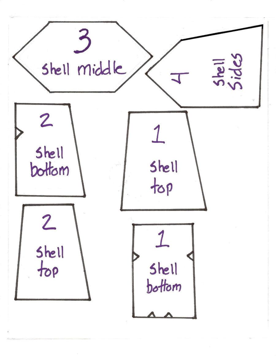 ntt shell pattern by ashurishirosenshi on deviantart