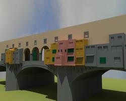 Ponte Vecchio Lighting Test by sgtrama