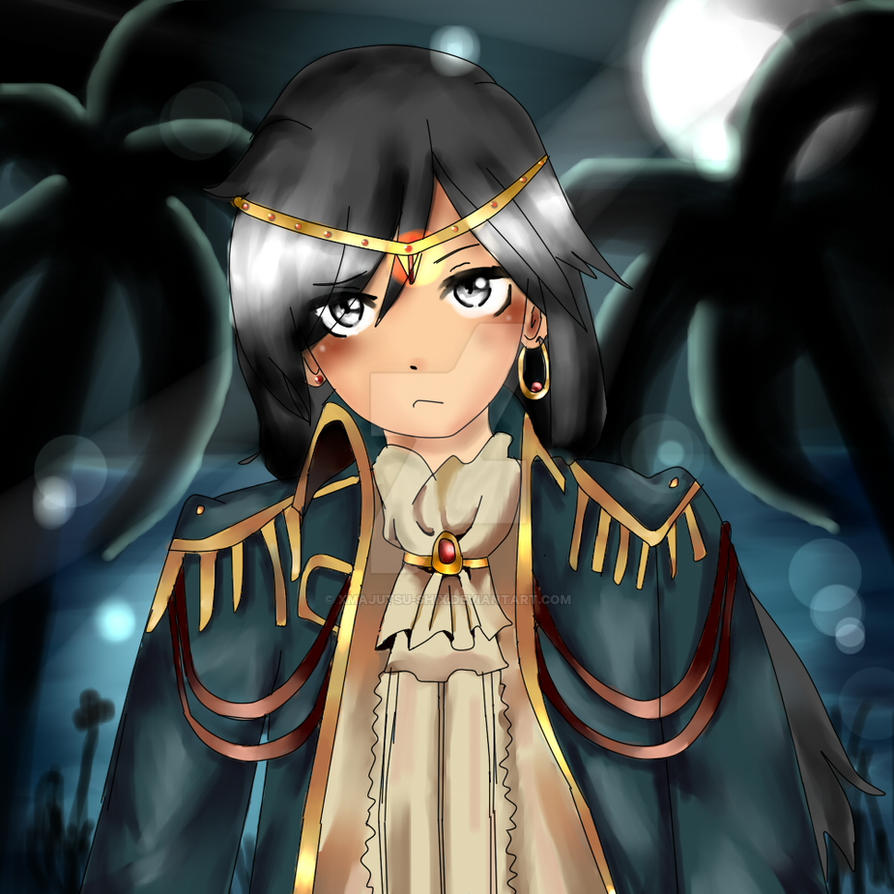 Anime Pirate OC by XMajutsu-shiX