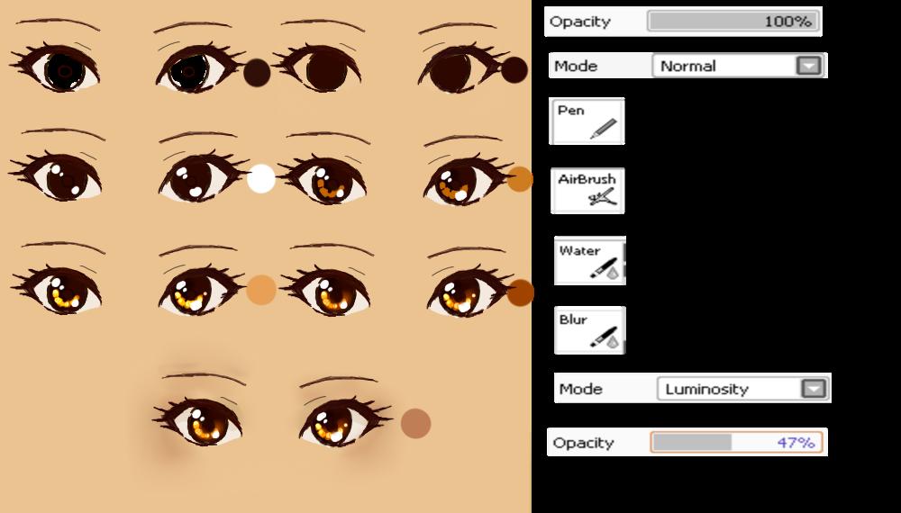 Manga Eye tutorial by XMajutsu-shiX