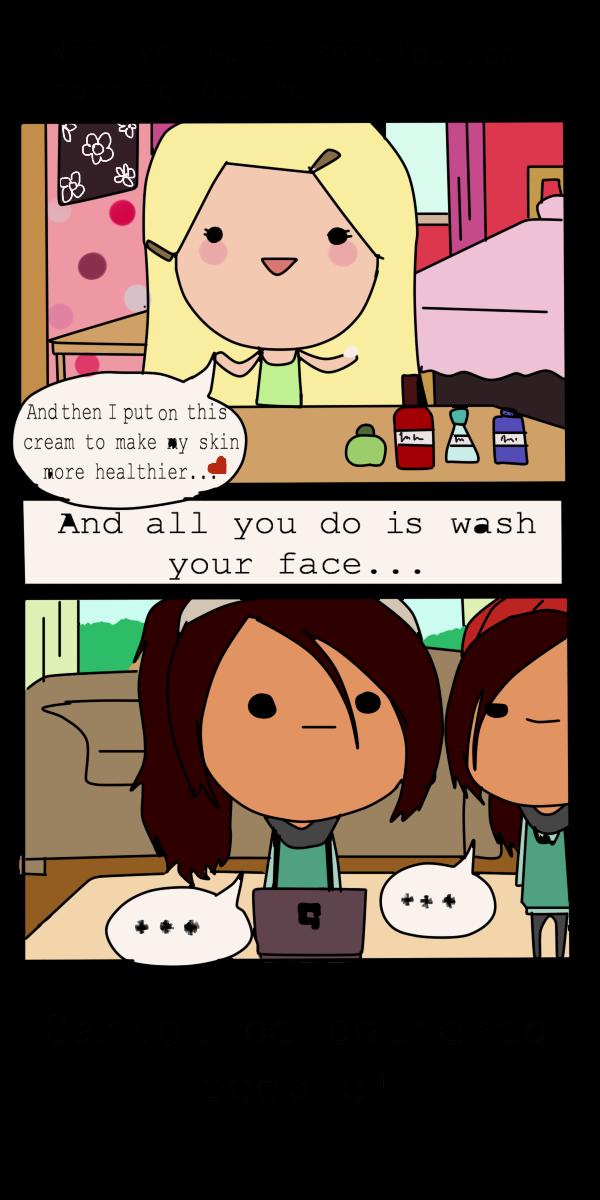 When you watch morning routines... by XMajutsu-shiX