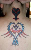 Kingdom Hearts goes Ink by jidane