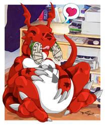 What do Digimon eat? by jidane