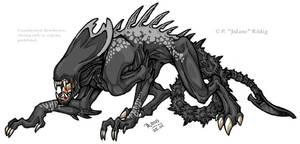Silver spotted Xenomorph
