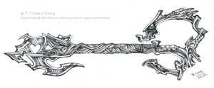 Dark Keyblade in Giger Style