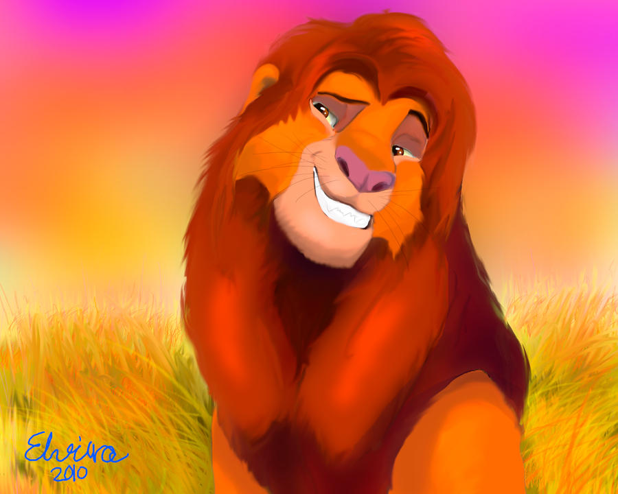 Simba, Nala, and Zazu by beckysmithh on DeviantArt