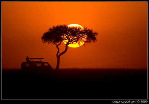 AFRICAN SUNSETS ARE BEAUTIFUL