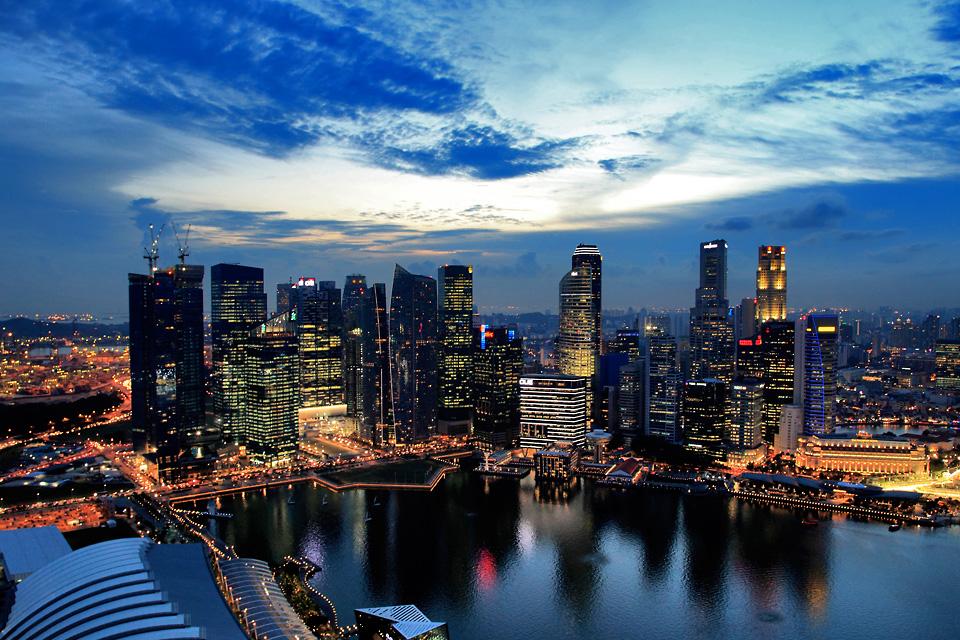 Singapore Skyline... by dogansoysal