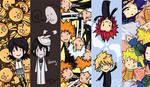 bookmarks: BLEACH, KH, NARUTO