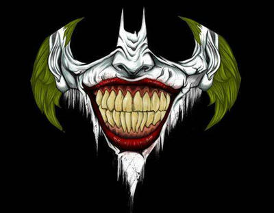 joker batman by EvilClown87909