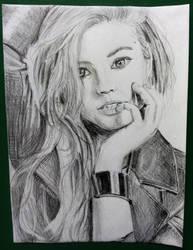 pencil sketch - Stefanie Noelle Scott by jstq
