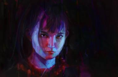 Suzuka (painting process link in description) by jstq
