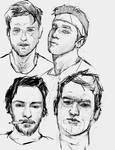 portrait sketches apr 27
