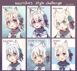 style challenge by tabikori