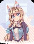 at - balloon cat