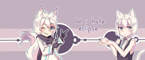 i made a banner for dA eclipse by tabikori