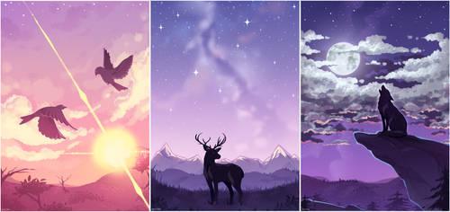original - skies by tabikori
