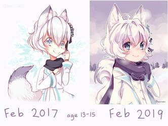 2 year improvement by tabikori