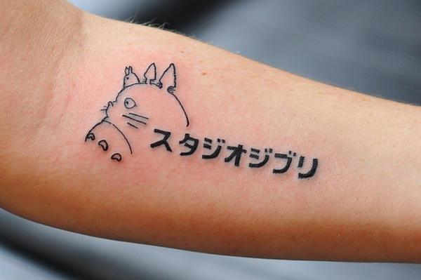 cynsplace tattoo tatuaje totoro studio ghibli
