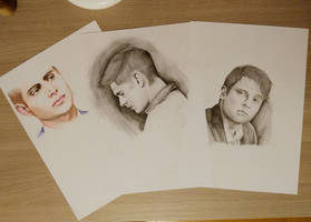Dean and Cas by CBaddict