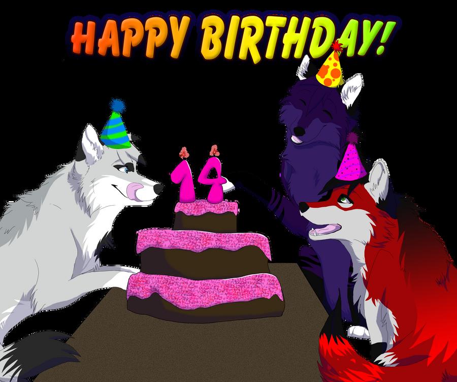 Happy Birthday Sistahh :D by DireWolf402