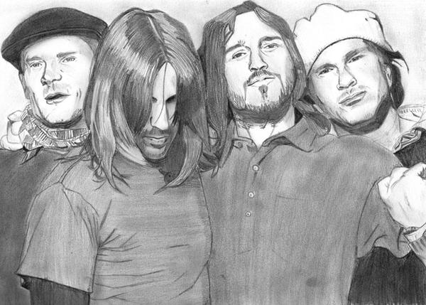 Red Hot Chili Peppers by artblog06