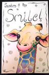 Rainbow Giraffe Card