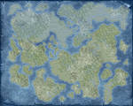 Blank World Map 1