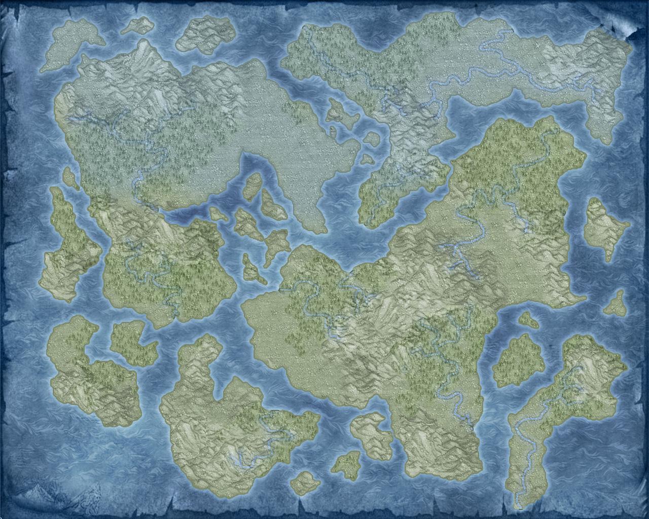unlabeled fantasy world map Blank World Map 1 By Thedasscholar On Deviantart