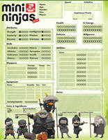 Mini Ninjas Character Sheet by ThedasScholar