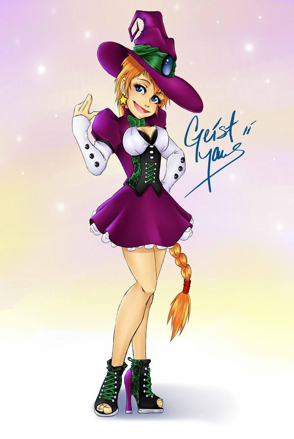 Good Witch by GeistMaus