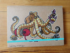 octopus bullet journal