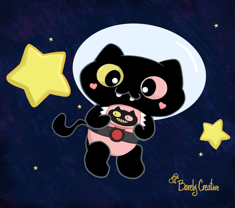 Cookie Cat by BarelyCreative