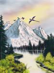 Dragon Mountain by maliDM