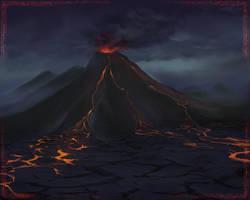Volcano by maliDM