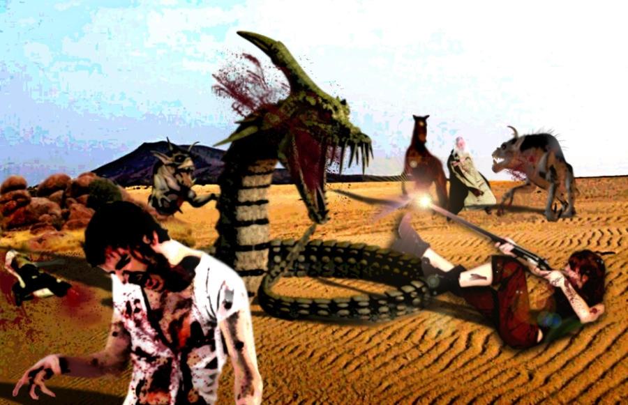 Battle in the Desert