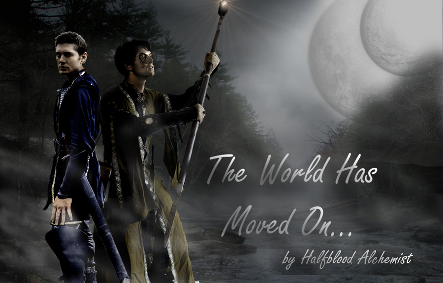 The World Has Moved On poster by HalfBloodAlchemist