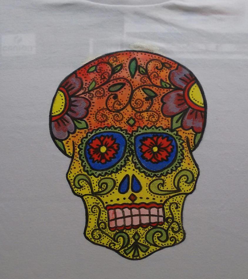 Calavera mexicana by gonke-king