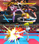 Peach Kicking (SFxT vs MS Tokyo 2020 Olympics)