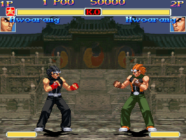 Hwoarang Battle Ssf2 X Tekken 3 By Cherryr95 On Deviantart