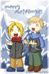 Elric Brothers - Merry x-mas