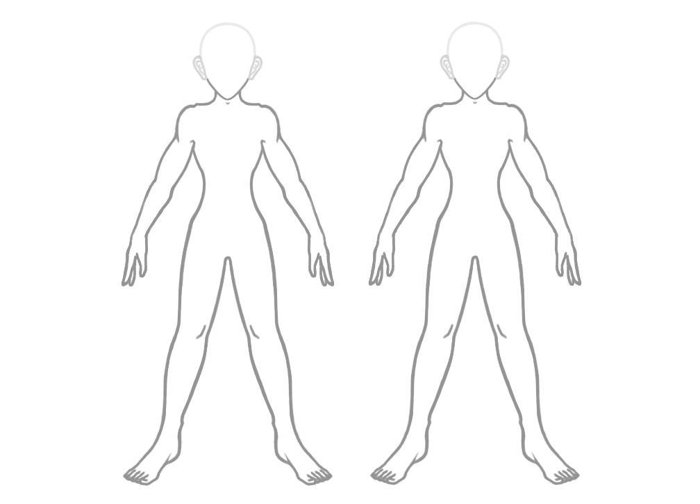 anime boy outline body: Generic Boy Outlines 1 By JM-anime On DeviantArt