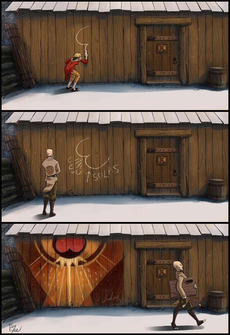 DA-Inquisition: Like a God by Tiny-Tyke