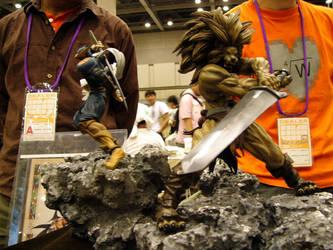 warzard statues by SH1ZEN