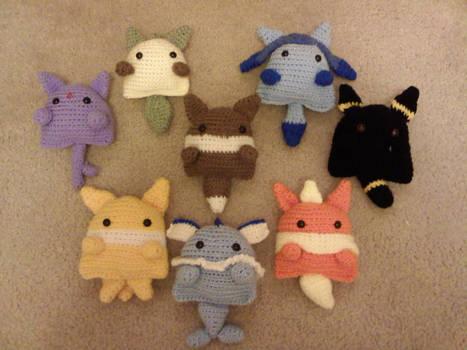 Crochet Eeveelutions